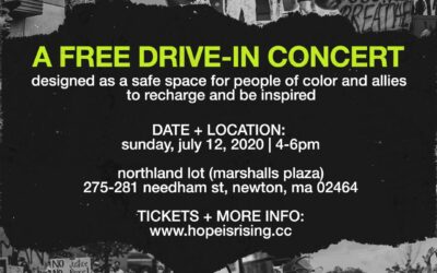"""Hope is Rising"" Concert in Newton"